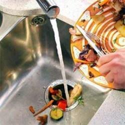 Установка утилизатор пищевых отходов. Иркутские сантехники.
