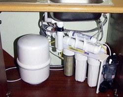 Установка фильтра очистки воды в Иркутске, подключение фильтра для воды в г.Иркутск